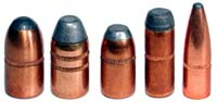 Jacketed Bullets with Cannelures applied