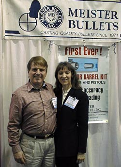 Mr. and Mrs. Bill Casey, Meister Bullets
